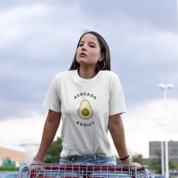 Avocado Addict Vegan T-Shirt