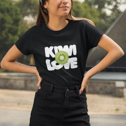 Avocadista Kiwi Love Vegan plant based fruit T-Shirt