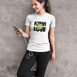 Kiwi Love Vegan T-Shirt