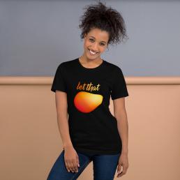 Vegan Let That Mango plant based fruit T-Shirt