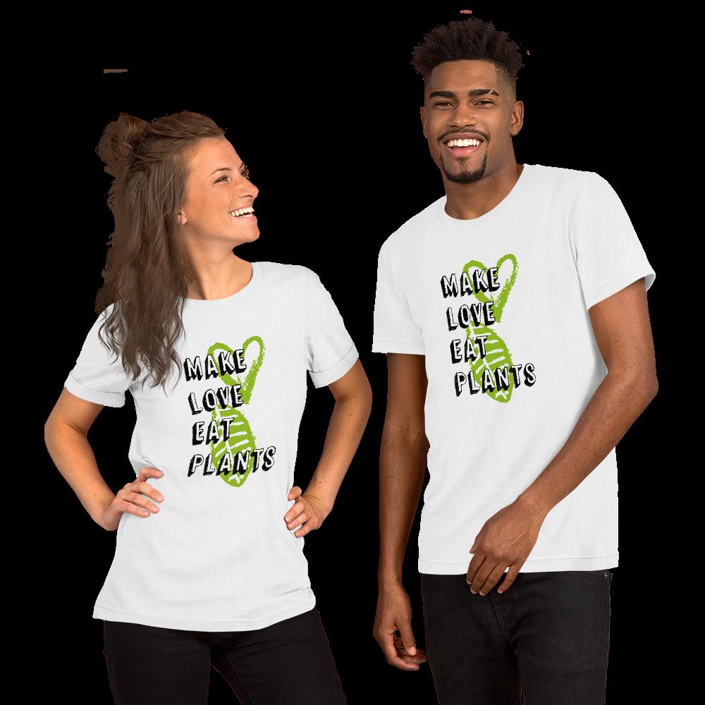 Avocadista Vegan Make Love Eat Plants plant based T-Shirt