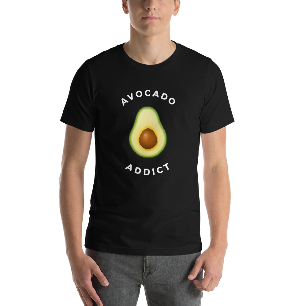 Vegan Avocado Addict Unisex T-Shirt