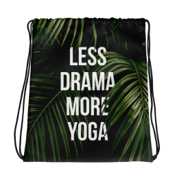 Less Drama More Yoga Gym Bag