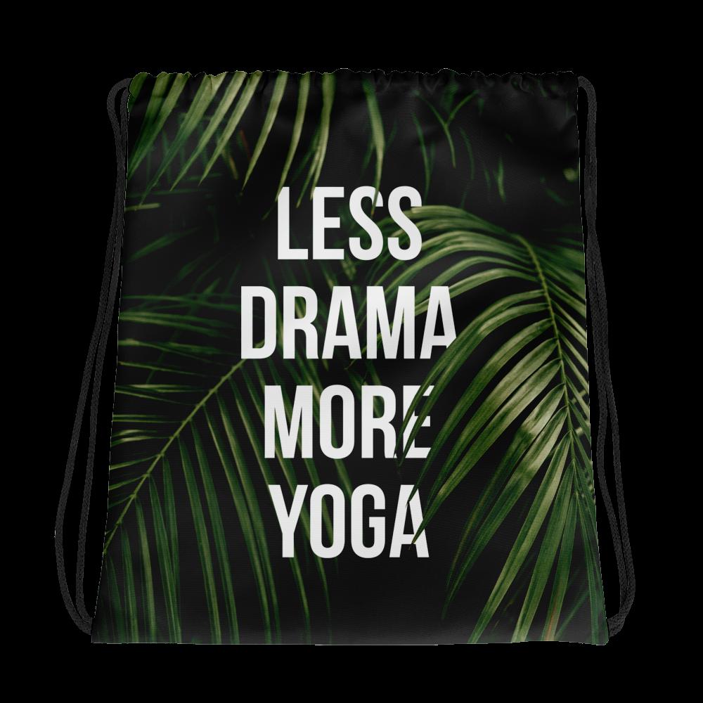 Less Drama More Yoga Gym Bag Pilates