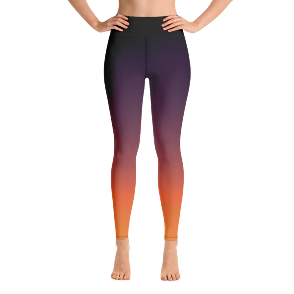Sunset Yoga Leggings Pants Active Wear Pilates
