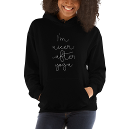 Nicer After Yoga Hoodie Pullover