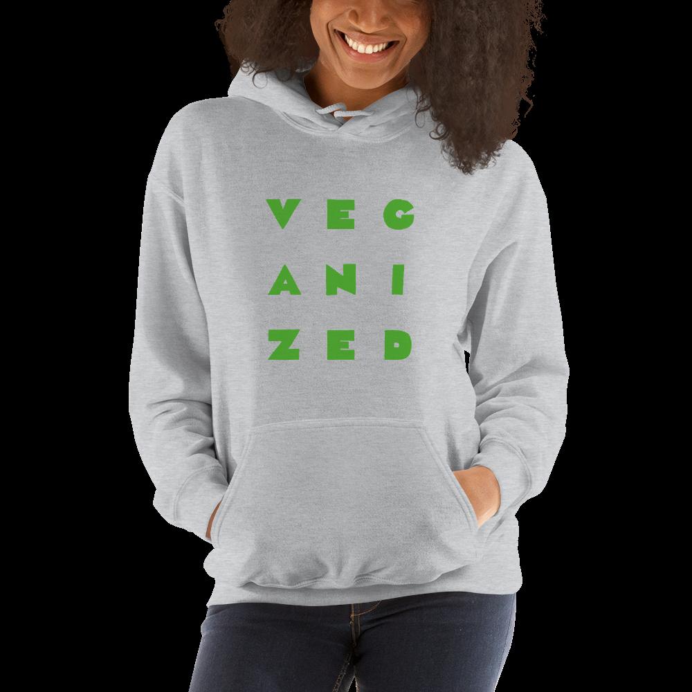 Veganized Vegan Plant based Hoodie Pullover