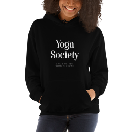 Yoga Society Hoodie Pullover