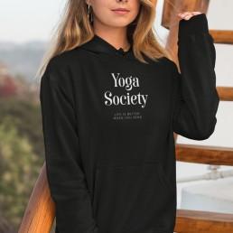 Avocadista Yoga Society Hoodie Pullover