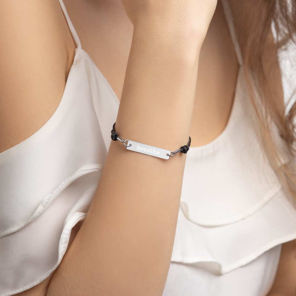Avocadista Breathe Yoga Bracelet Schmuck Armband
