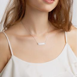 Inhale Exhale Yoga Necklace Schmuck Kette