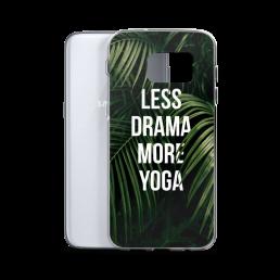 Avocadista Less Drama More Yoga Samsung Case