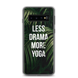 Less Drama More Yoga Samsung Case