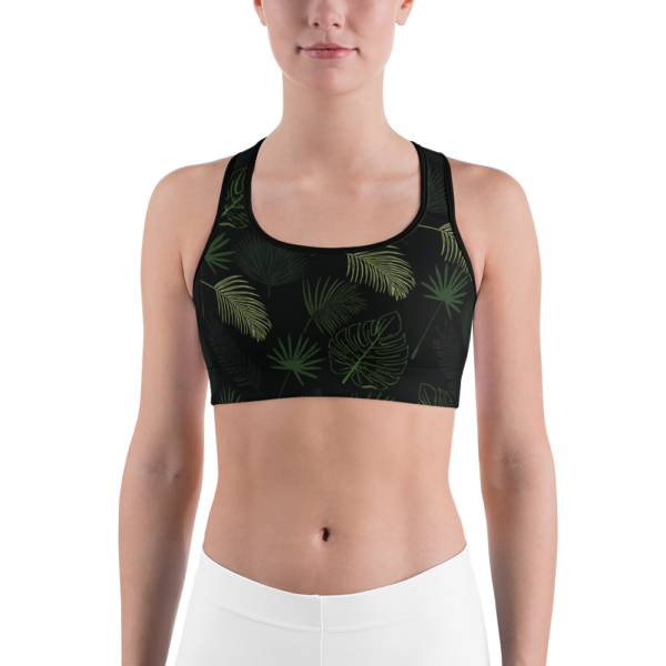 Avocadista Jungle Yoga Sports Bra Active Wear Pilates