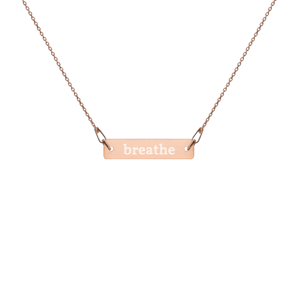 Schmuck KetteBreathe Yoga Necklace