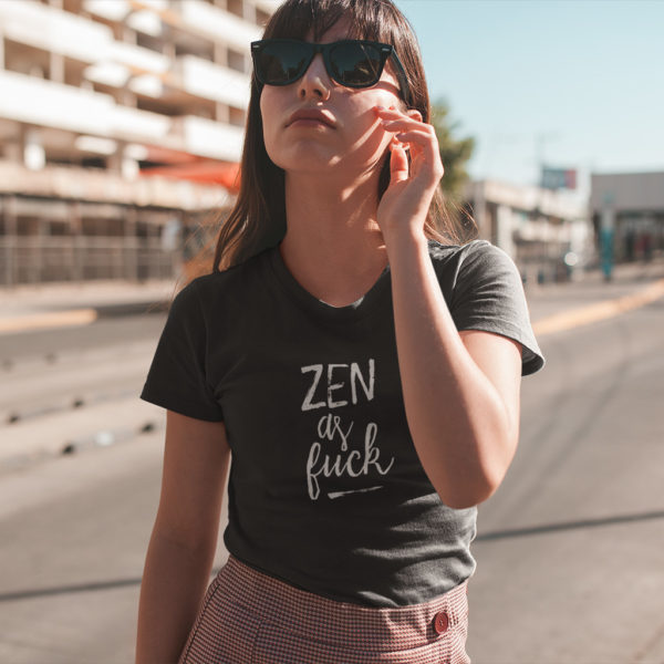 Avocadista Zen As Fuck Yoga T-Shirt