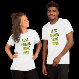 Less Drama More Yoga T-Shirt