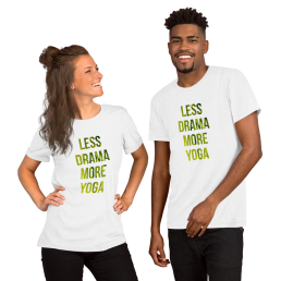 Avocadista Less Drama More Yoga T-Shirt