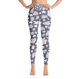 Clouds Yoga Leggings