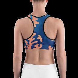 Avocadista Coral Yoga Sports Bra Active Wear Pilates