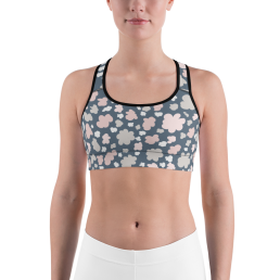 Clouds Sports Bra
