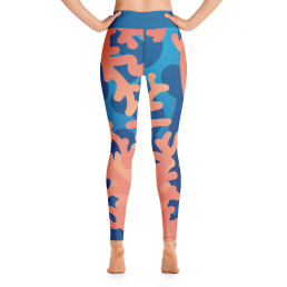 Coral Yoga Leggings