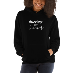 Avocadista Naughty But Kind Vegan Plant based Hoodie Pullover