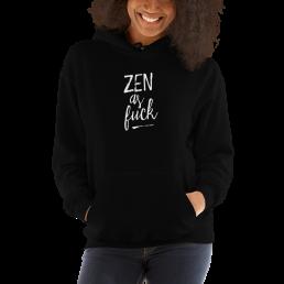 Avocadista Zen As Fuck Yoga Hoodie Pullover