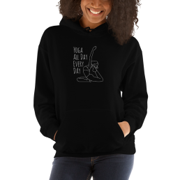 Yoga All Day Every Day Hoodie