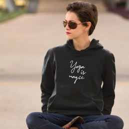 Yoga Is Magic Hoodie