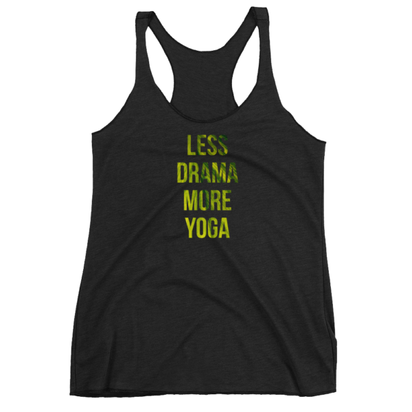 Avocadista Less Drama More Yoga Tanktop Top racerback