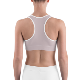 Avocadista Plum Blush Mauve Yoga Sports Bra Active Wear Pilates