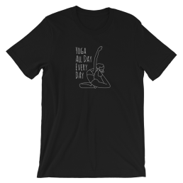 Avocadista Yoga All Day Every Day T-Shirt