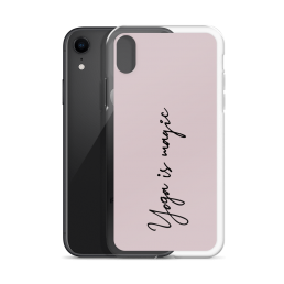 Avocadista Yoga Is Magic iPhone Case