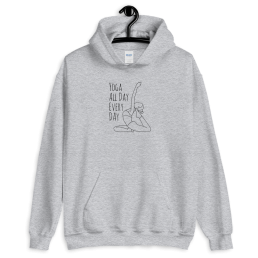 Avocadista Yoga all day every day Hoodie Pullover