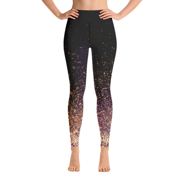 Avocadista Gold Dust Yoga Leggings Pants Active Wear Pilates