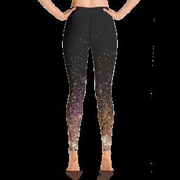 Gold Dust Yoga Leggings