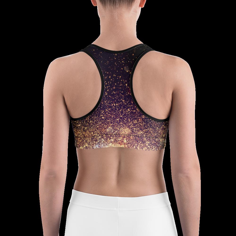 Avocadista Gold Dust Yoga Sports Bra Active Wear Pilates