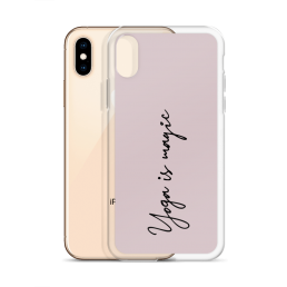 Yoga Is Magic iPhone Case