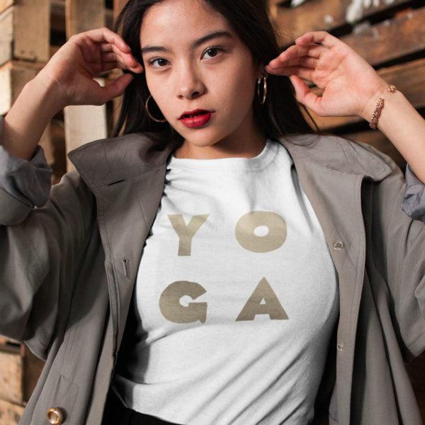 Avocadista Glam Yoga T-Shirt