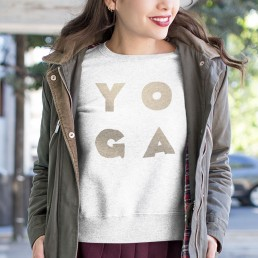Avocadista Glam Yoga Sweatshirt Pullover