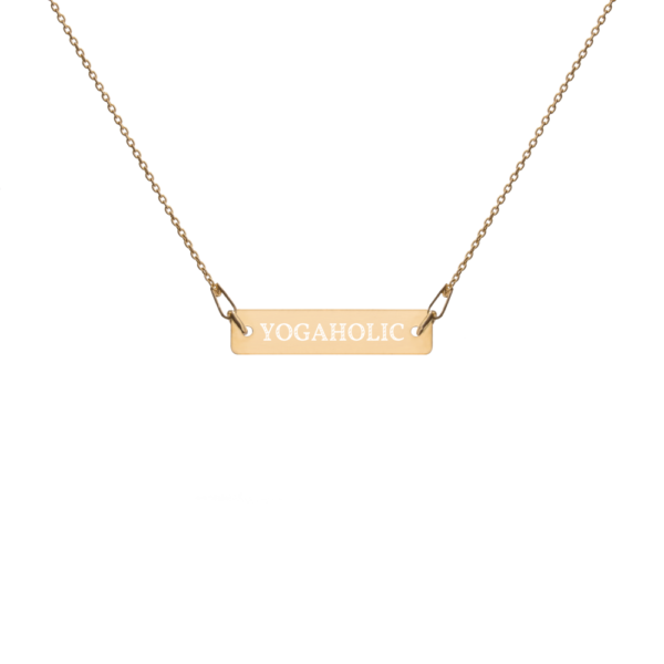 Avocadista Yogaholic Yoga Necklace Kette Schmuck