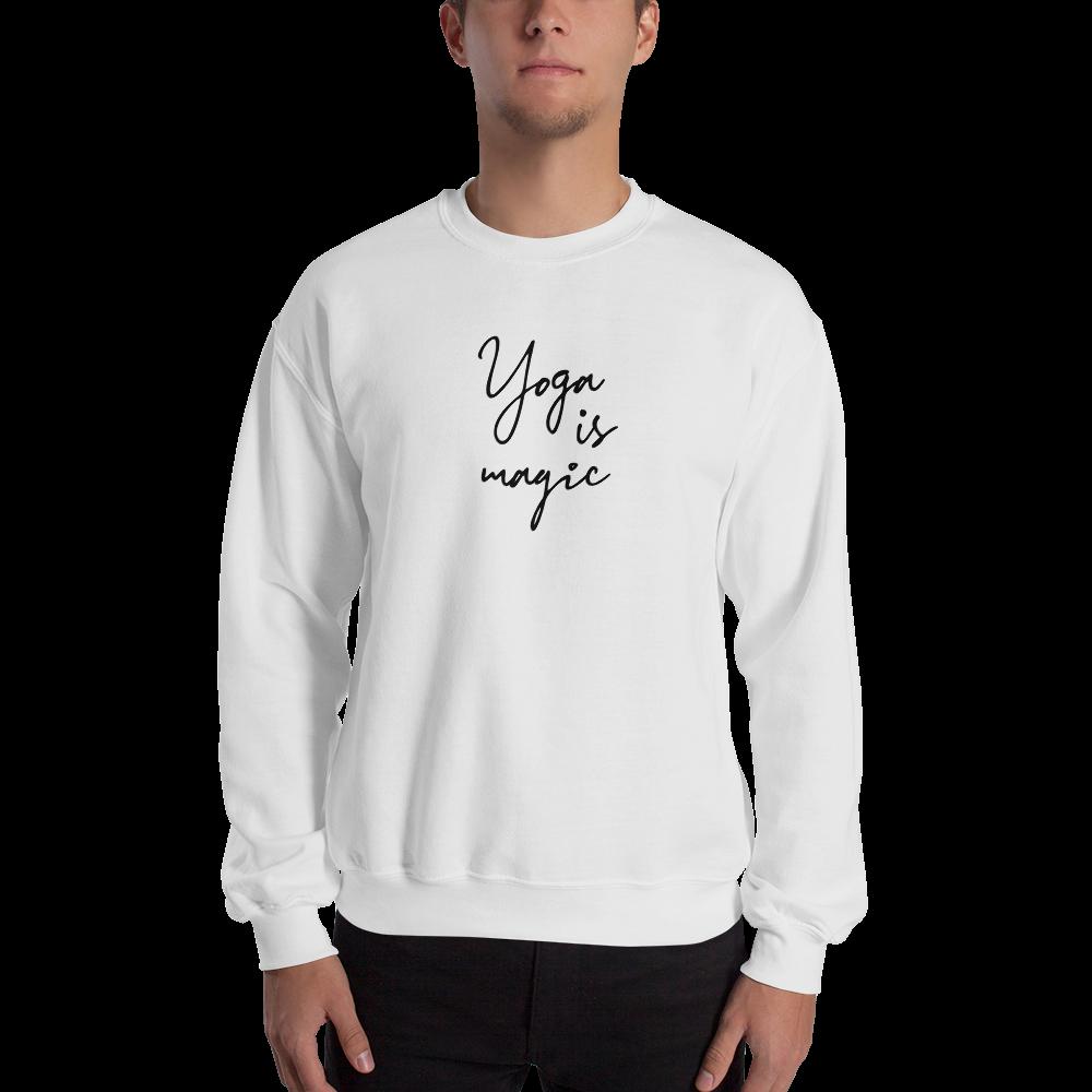 Avocadista Yoga is Magic Sweatshirt Pullover