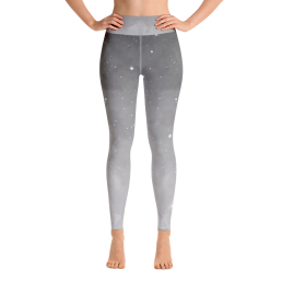 Avocadista Grey me a River Yoga Leggings Pants Active Wear Pilates