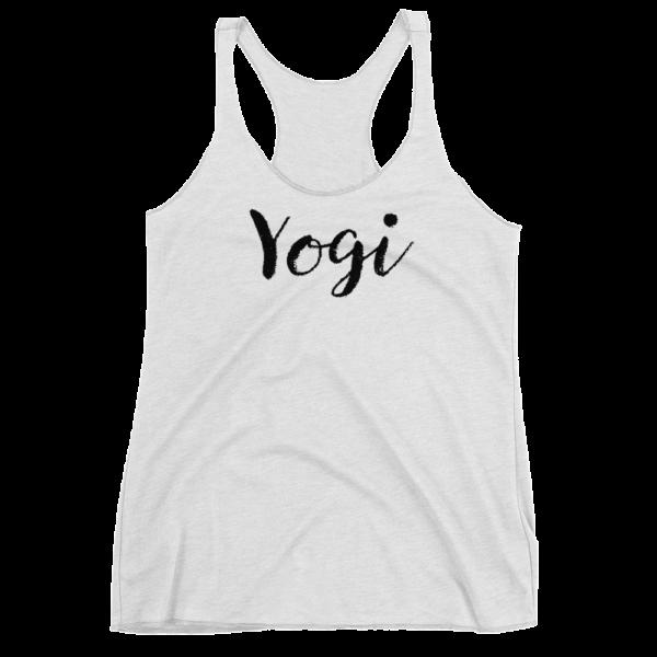 Avocadista Yogi Yoga Tanktop Racerback