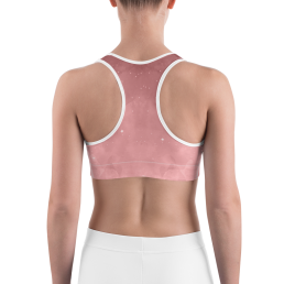 Avocadista Rosanna Old Rose Yoga Sports Bra