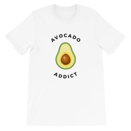 Avocadista Avocado Addict Vegan Plant based T-Shirt