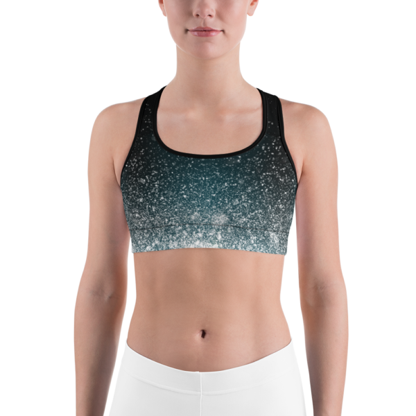 Avocadista Silver Dust Yoga Sports Bra Active Wear Pilates