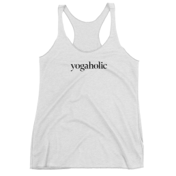 Avocadista Yogaholic Yoga Tanktop Racerback