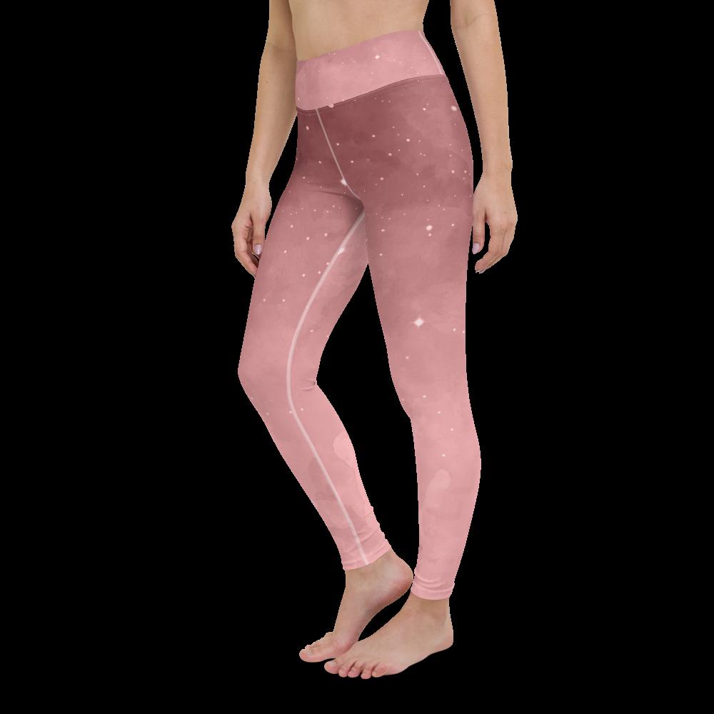 Rosanna Old Rose Yoga Leggings Pants Active Wear Pilates
